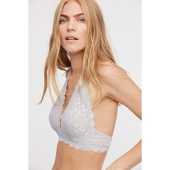 d5b4eafd8a19f Free People Other - Intimately Free People XS Lilac Galloon Lace Bra
